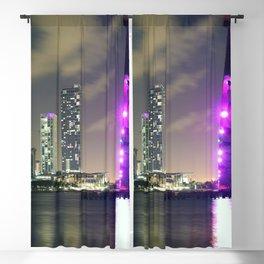 Downtown Miami Blackout Curtain