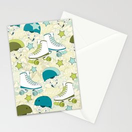 Roller Derby Rumble Stationery Cards
