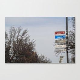 Rue Cuvillier Canvas Print