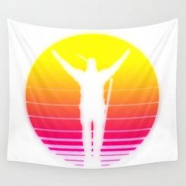 PraiseTheSynthWave Wall Tapestry