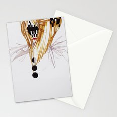 CHECKERS FACE Stationery Cards