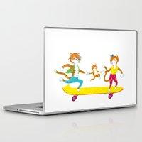 skate Laptop & iPad Skins featuring Skate by Matthias Leutwyler