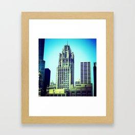 Chicago Architecture Framed Art Print