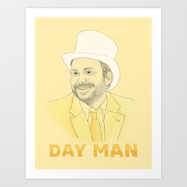 Day Man Art Print