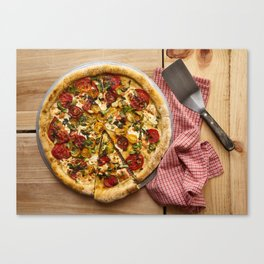 Pizza Pizza Canvas Print