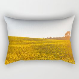 Field of Sunshine Rectangular Pillow