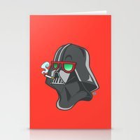 darth Stationery Cards featuring Darth by Octofly Art