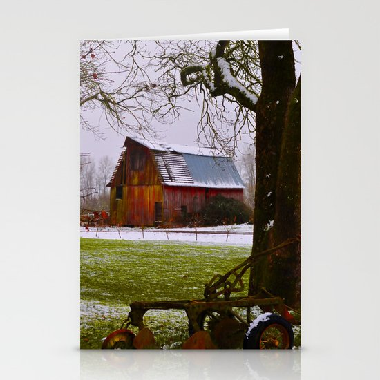 Remnants of a Simpler Time - The Barn Stationery Cards