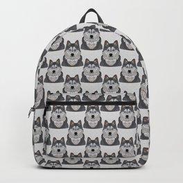 Husky Portrait Backpack