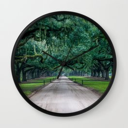 Tangled Trees Wall Clock