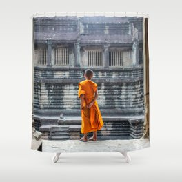Temple Dwellers Shower Curtain