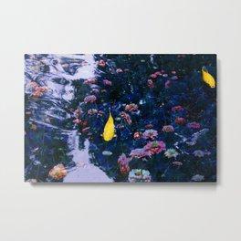 Koi Pond Trip Metal Print