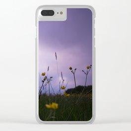Buttercups at Bradley Burn Clear iPhone Case