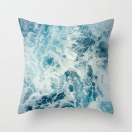 Washing Over Me Throw Pillow