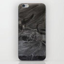 Beauty and the Bone iPhone Skin