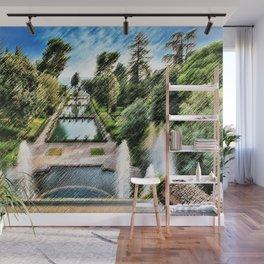 Tivoli, Italy Villa d'Este Fountains & Gardens Landscape by Jeanpaul Ferro Wall Mural
