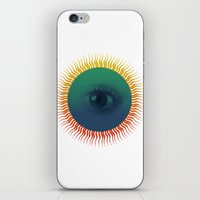 third eye iPhone & iPod Skins featuring Third Eye by ochre7