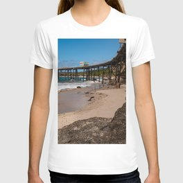 Catherine Hill Bay Pier T-shirt