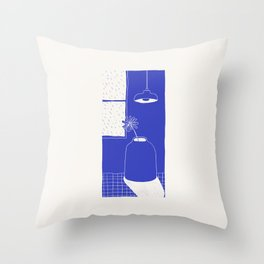 Look Outside Throw Pillow