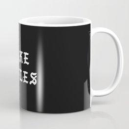 Typographic Fake Smiles Hand Lettering Coffee Mug