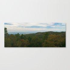 Rural layers Canvas Print