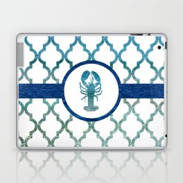 Lobster: Tropical Water Moroccan Pattern Laptop & iPad Skin