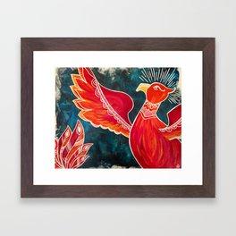 May the Phoenix Rise Framed Art Print