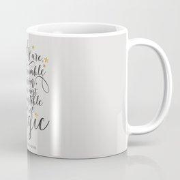 Dumbledore's Magic Words Coffee Mug