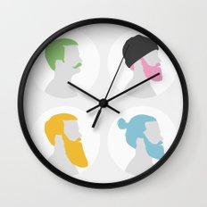 4x Mister hipster Wall Clock