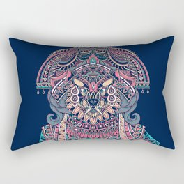 Queen of Solitude Rectangular Pillow