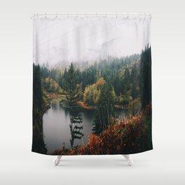 Gillette Lake Shower Curtain