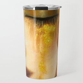 Freya's Golden Tears Viking Lore Travel Mug