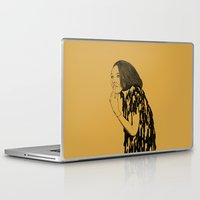witch Laptop & iPad Skins featuring Witch by Skinny Gaviar