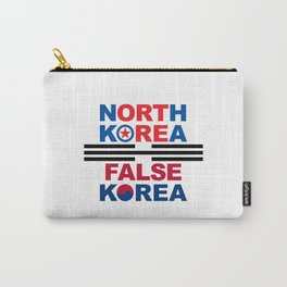 North Korea Carry-All Pouch