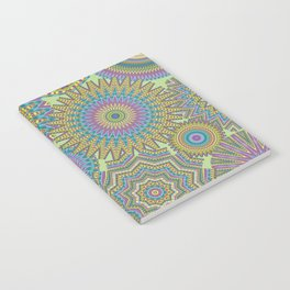 Kaleidoscopic-Jardin colorway Notebook