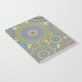Kaleidoscopic-Jardin colorway Notebook