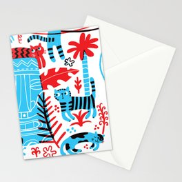 Tropicats Stationery Cards