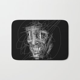 Monsters don't sleep under your bed, they sleep inside your head. Bath Mat