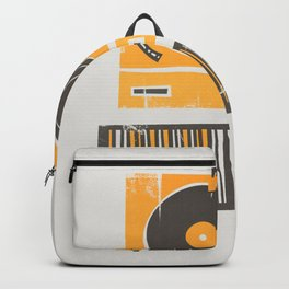 Vinyl Deck Backpack