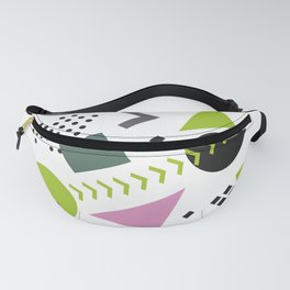 Bright geometric seamless pattern Fanny Pack
