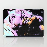 tigers iPad Cases featuring tigers by Emmy Winstead