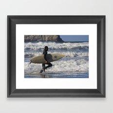 Let's Surf! Framed Art Print