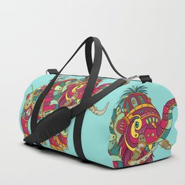 Mammoth, cool wall art for kids and adults alike Duffle Bag