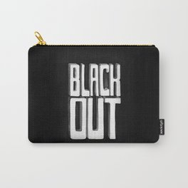 Black Out Carry-All Pouch