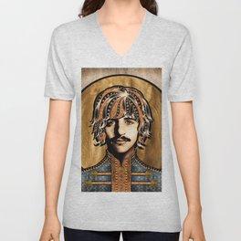 Boho Beatle ( Ringo ) Unisex V-Neck