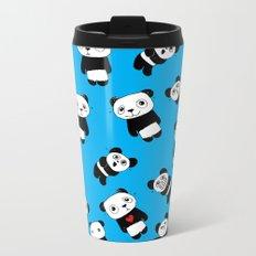 Panda Moods Metal Travel Mug