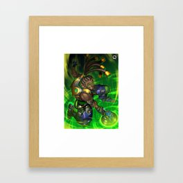 over lucio watch Framed Art Print