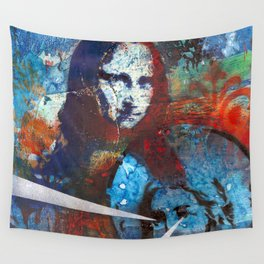 Finding Mona Wall Tapestry