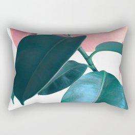 Plant Leaves Rectangular Pillow