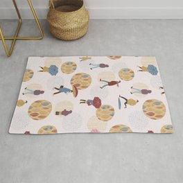Autumn pattern Rug